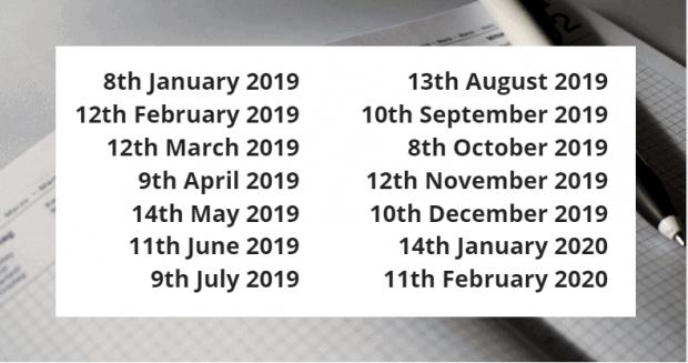 SAP Upcoming Security Patch Dates
