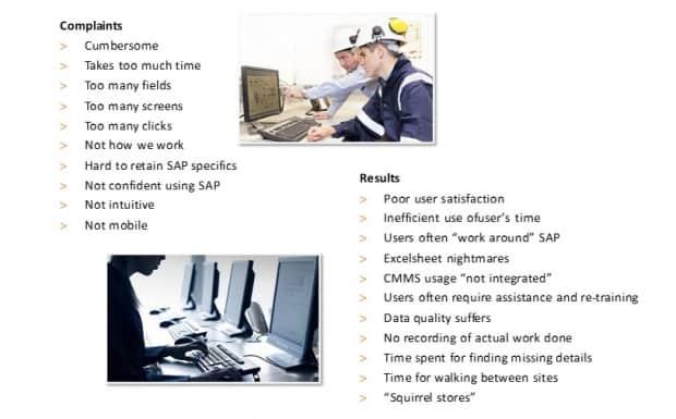 Designing an offline app in SAP