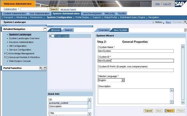 Portal - (Image ©SAP AG)