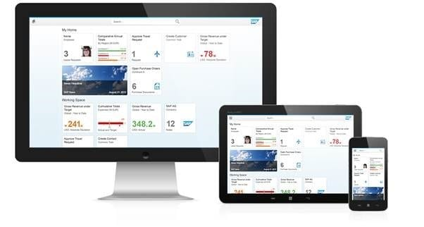 SAP Fiori (Image ©SAP AG)