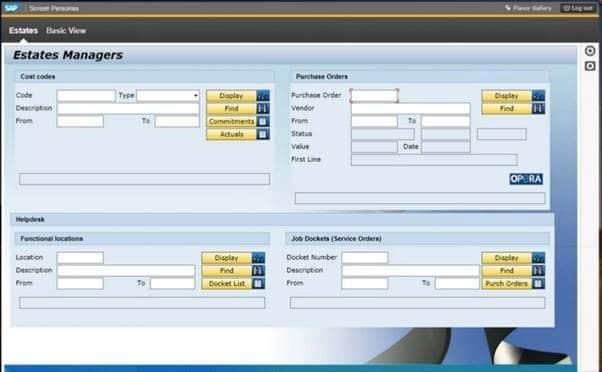 SAP Screen Personas - (Image ©SAP AG)