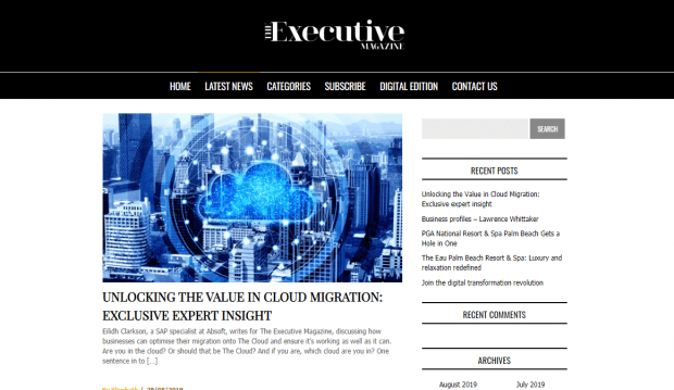 Unlocking the value in cloud migrations - Absoft for The Executive Magazine