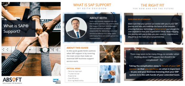 What is SAP Support -Guide from Absoft SAp Partners